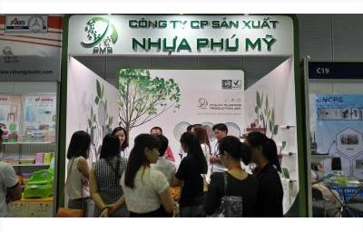 Công ty CPSX Nhựa Phú Mỹ tham dự triển lãm nhựa quốc tế 10/01-12/01/2018