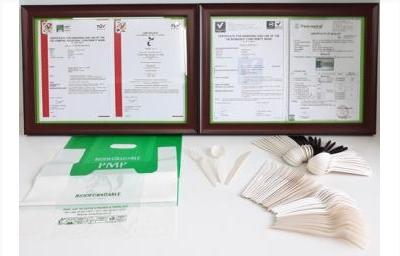 Nhựa phân hủy sinh học PMP đạt chứng nhận quốc tế